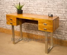 MAR-001 CONTEMPORARY STYLE DESK WITH STEEL LEGS